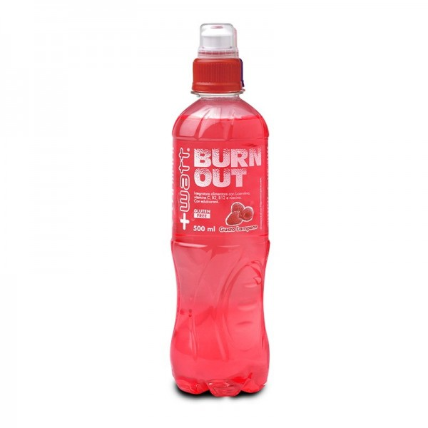 Burn Out -Drink energetico gusto Lampone