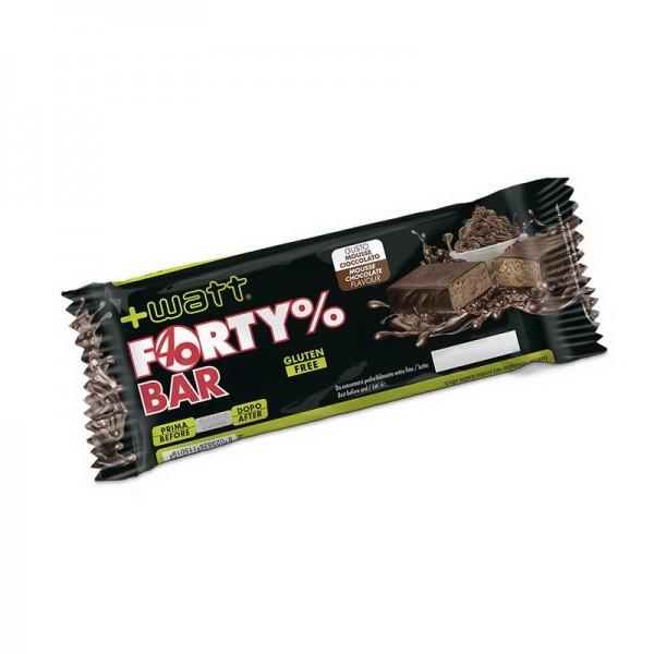 Forty%Bar barretta proteica gusto Cioccolato