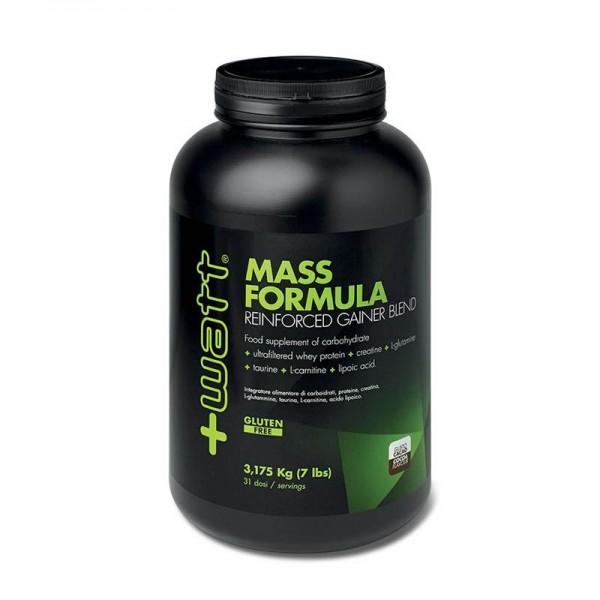 Mass Formula Reinforced Gainer Blend 3175gr gusto Cacao