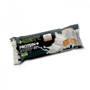 Protein+ White barretta proteica gusto Cappuccino