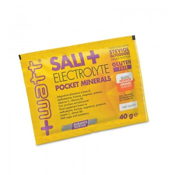 Sali+ Electrolyte Pocket Minerals 30 Buste da 40 grammi gusto Arancia