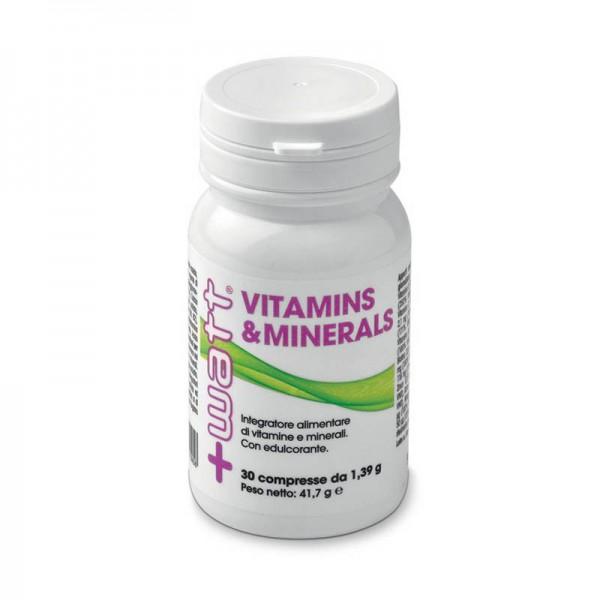 Vitamins & Minerals 30 Compresse