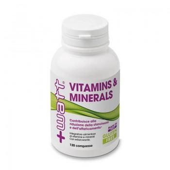 Vitamins & Minerals 120 cpr.