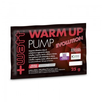Warm Up Pump Evolution 30 Buste da 25 grammi