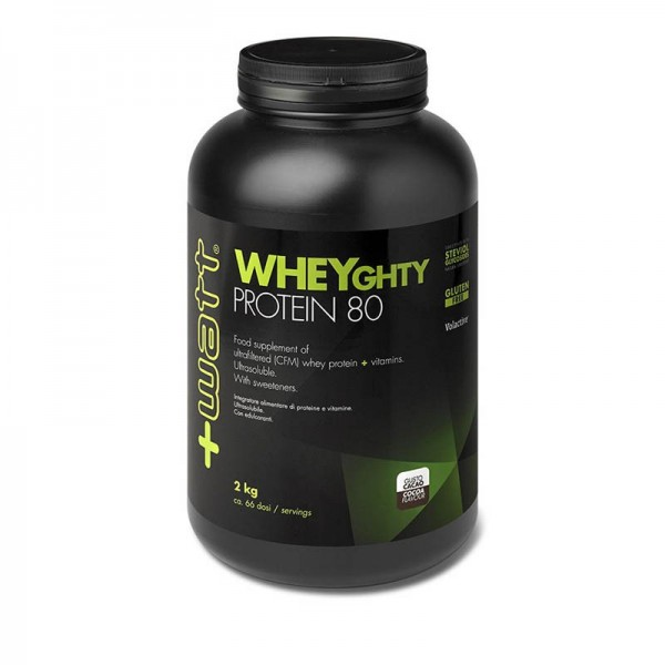 Wheyghty Protein 80 2000 Grammi gusto Cacao