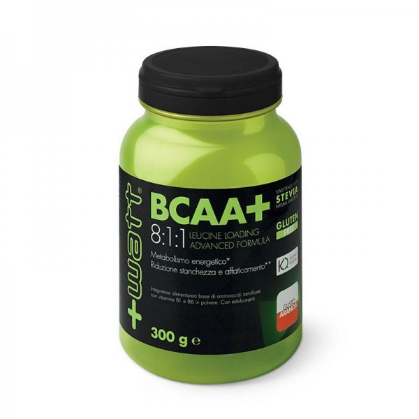 BCAA+ 8:1:1 Aminoacidi in polvere gusto arancia