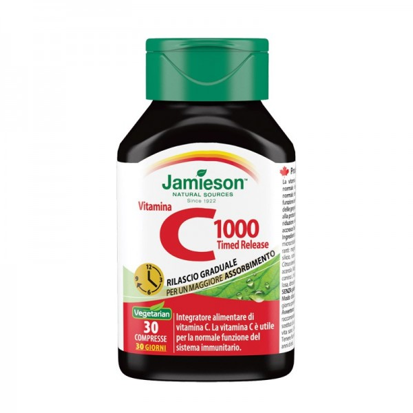 Vitamina C 1000 timed release