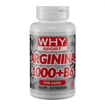 Arginina 1000 + B6