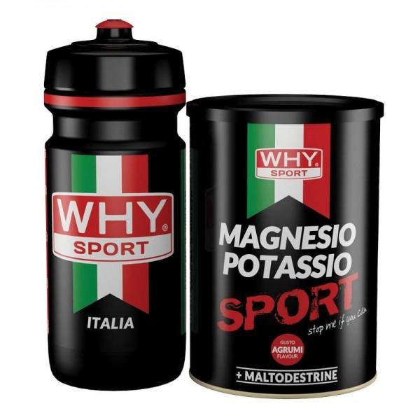 Magnesio Potassio Sport + Borraccia